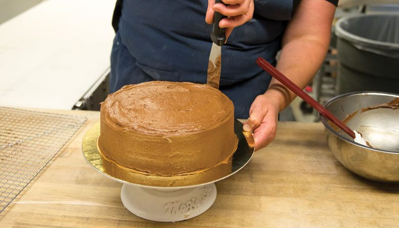 ICING ON THE CAKE Before Taking Over This Ballard Bakeshop Suzanne Rosellini Had A Business Making Custom Layer Cakes Her Chocolate Is Now Neighborhood
