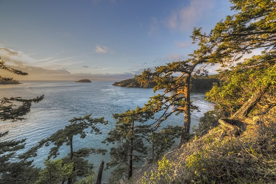 A view from one of Washington's most iconic state parks, Deception Pass