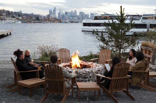 Cozy Up To A Local Fire Pit This Winter