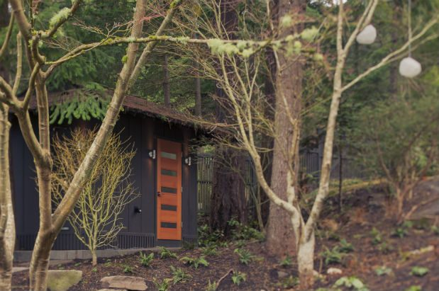 Garden Sheds Seattle how one seattle couple created an outdoor sauna from an old garden