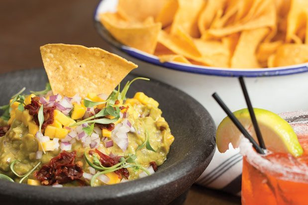Fresh chips and specialty guacamoles are made daily at Poquitos on Capitol Hill