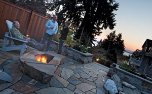 Create a cozy outdoor space with a backyard fire pit seattle magazine - Types fire pits cozy outdoor spaces ...