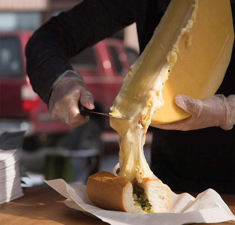 Fire and Scrape, Seattle's Mobile Melted Cheese Slingers, Are