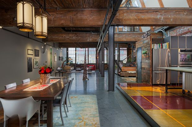 Industrial And Green Design Collide In This Capitol Hill