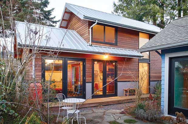 Backyard Cabins Victoria an open and airy backyard cottage | seattle magazine