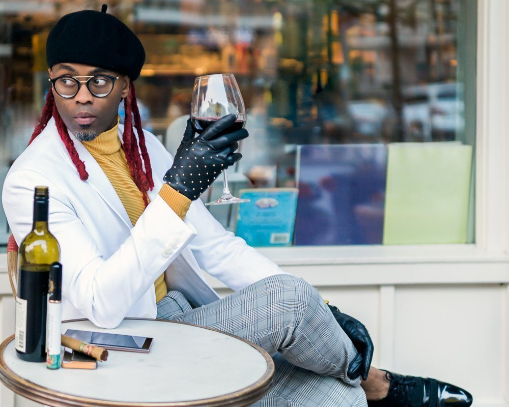 Jamen Lanogwa is the owner of Saziru, a Seattle-based luxury fashion brand serving looks that are both classic and edgy