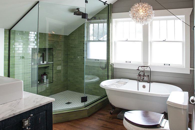 The Elegant Way To Mix And Match Your Bathroom Design