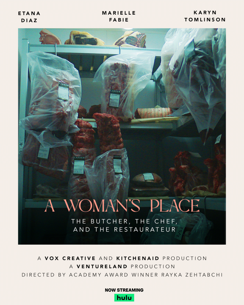 'A Woman's Place' tells the stories of three women who have fought their way through a male-dominated industry