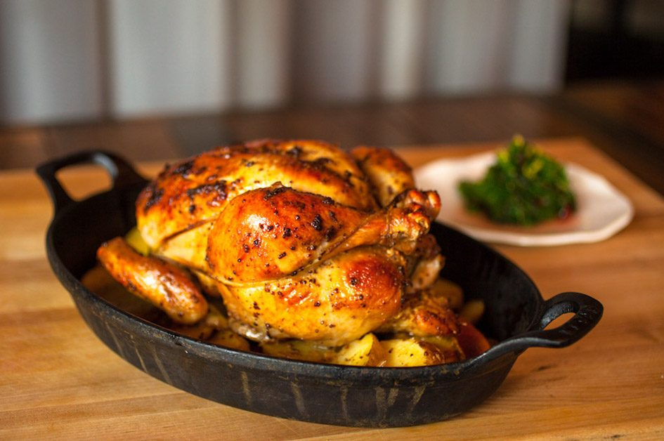 Make the famous Lark roasted mustard chicken while staying safe at home