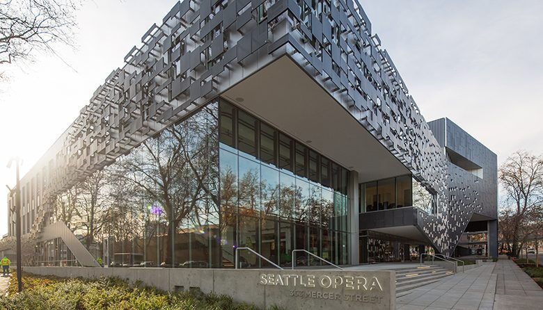 Seattle Opera's new Civic Center in Seattle Center