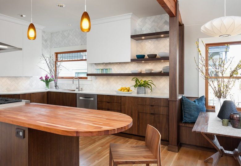 Seattle Craftsman House Gets A Gorgeous Kitchen Makeover