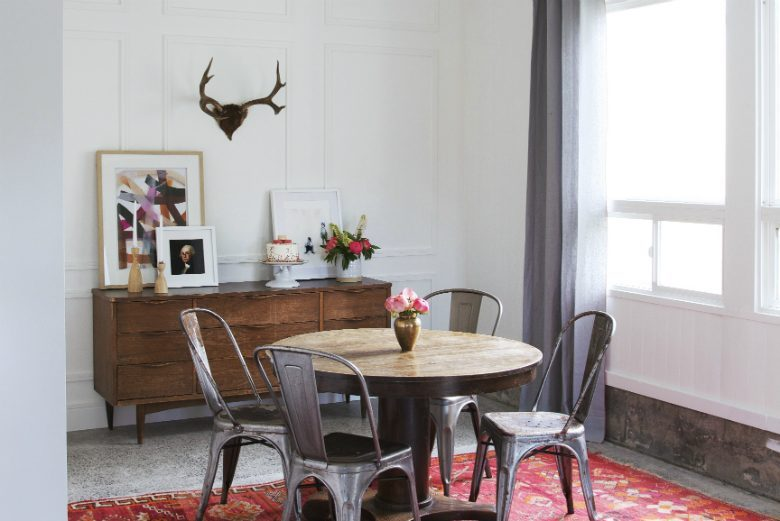 Tacoma Garage Transformed Into Industrial Chic Dining Space