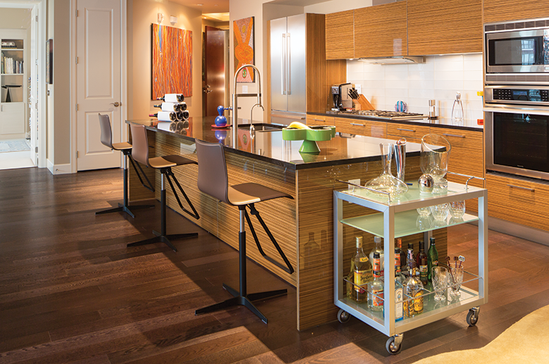 Of course your condo is this stylish when you own a high for High end kitchen stores
