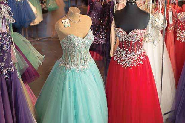 Shop for Prom Dresses at SoDo's Dolce Bleu | Seattle Magazine