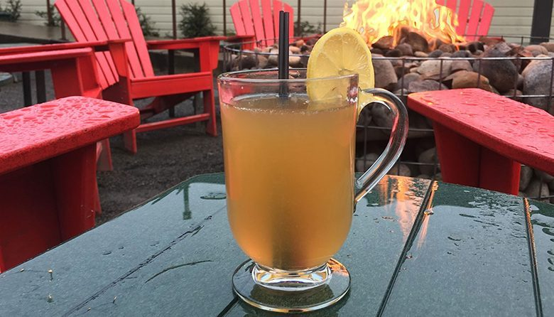 Woodinville's The Hollywood Tavern hot Fireside Toddy