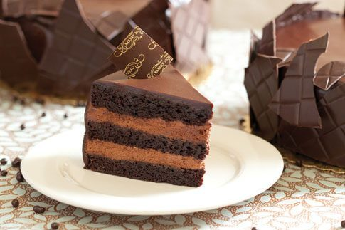 Bakery Nouveaus Triple Layer Chocolate Cake
