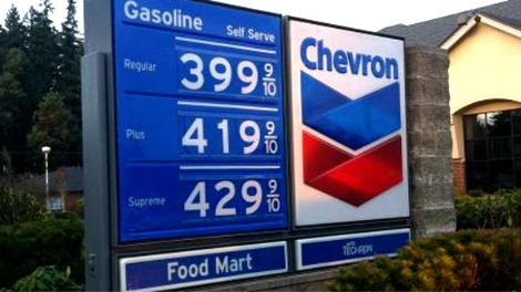 Gas Prices Seattle >> King 5 Washington Gas Prices Increase 43 Cents In A Month Seattle