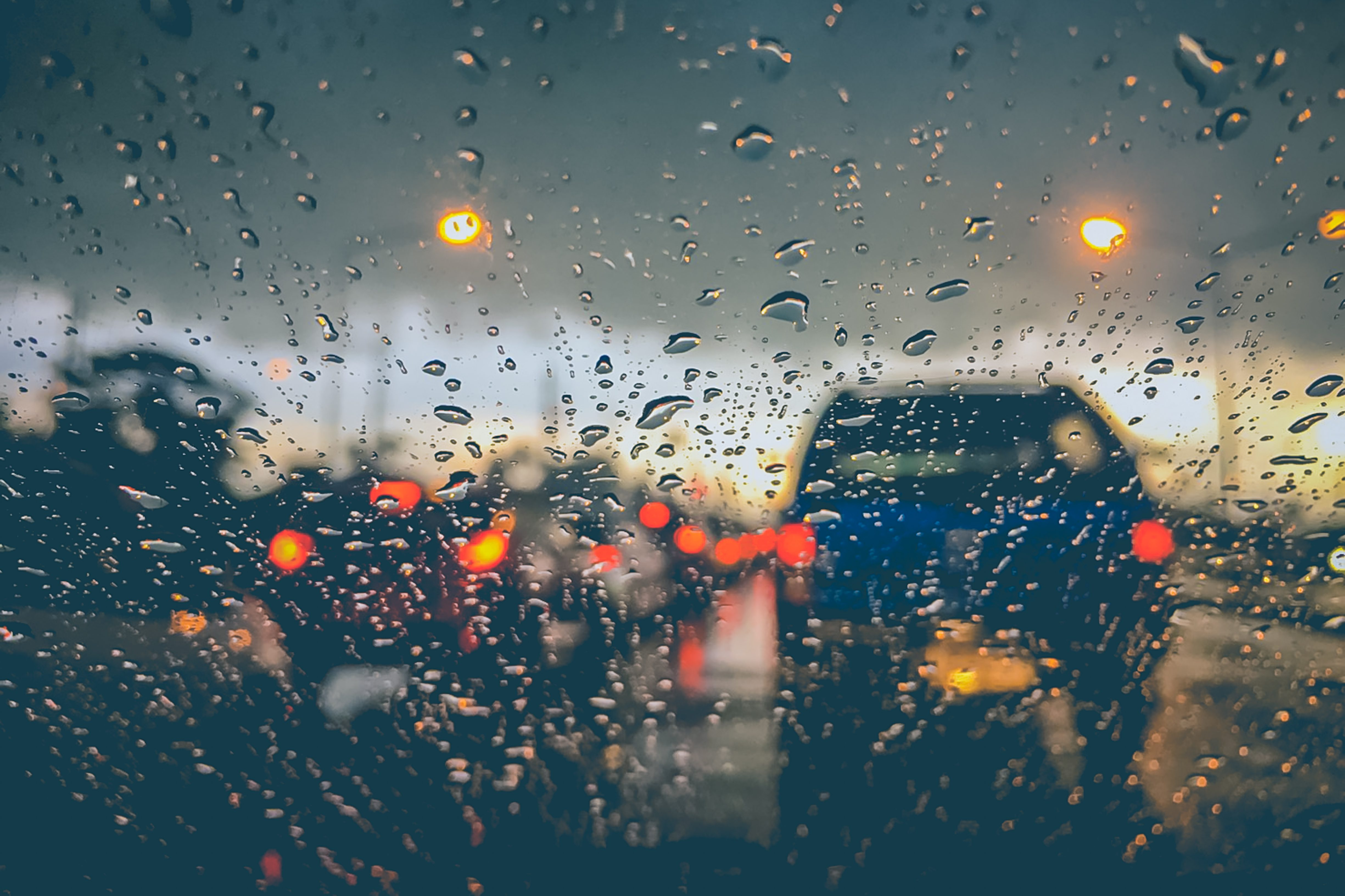 Driving in the Seattle rain