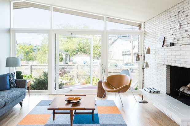 houzz tour midcentury beach house opens up to the outdoors