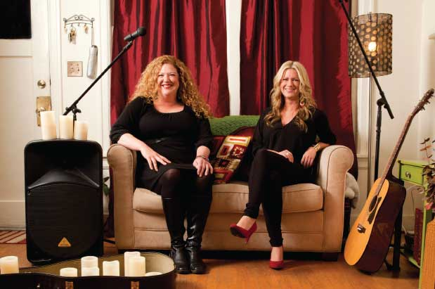 a local sister duo starts seattle living room shows