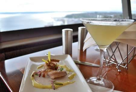 Awesome as it is  most of us usually feel like we need a good reason to  have dinner at the Space Needle s restaurant  SkyCity An Even Tastier Reason to Go to the Space Needle for Dinner  . Dinner Seattle Space Needle. Home Design Ideas