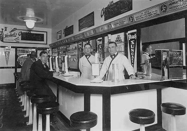 Craving some soda fountain cool in seattle seattle magazine for Old fashioned pharmacy soda fountain