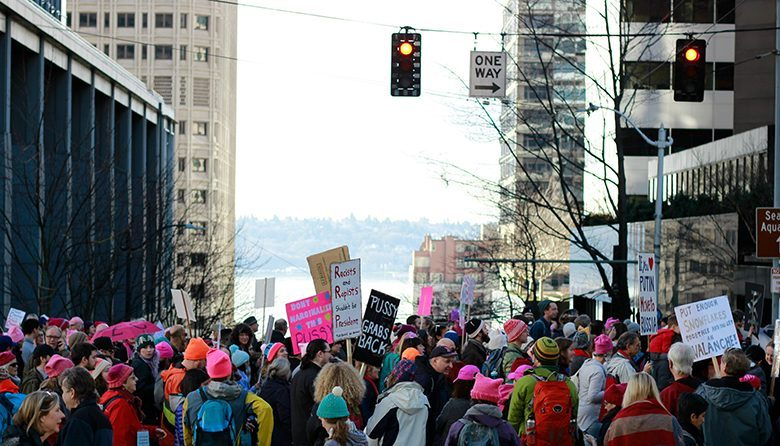 Seattle women's march 2017