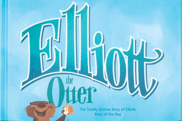 Elliott the Otter for Seattle magazine