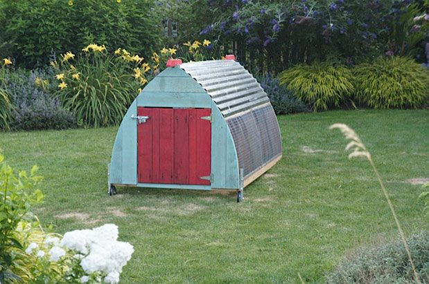 Saltbox Designs chicken coop