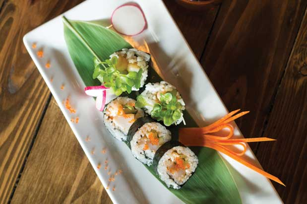 Liberty S Trifecta 8 Sushi Tasty Tails And A Hip Place To Hang Out Photo Sarah Pitts Robinson