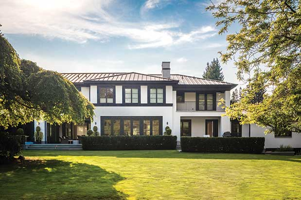 Of The Most Amazing Homes In The Pacific Northwest Seattle - A warm stone exterior houses an intimate residence and private art gallery