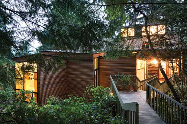Puyallup Architect Ko Wibowo S 800 Square Foot Addition Left To A Tacoma House Offers An Ada Compliant E Accommodate The Homeowner