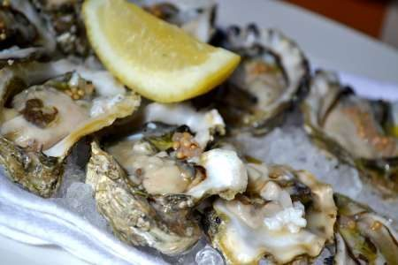 Eld Inlet oysters at Local 360