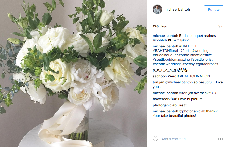 Instagram inspiration floral arrangements seattle magazine 2 mightylinksfo