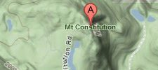 Map of Mt Constitution