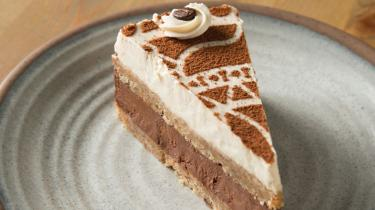Local Pure Pie slice of tiramisu