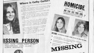 Evergreen State College's newspaper front page shows women who have disappeared