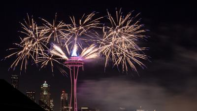New Year's Eve in Seattle, Washington