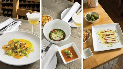 The food at Violet is simple, refined, seasonal and internationally influenced