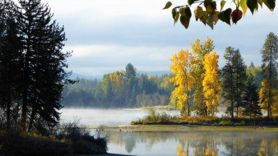 On the shore of Lake Pend Oreille, Sandpoint offers unique fall traditions to all visitors