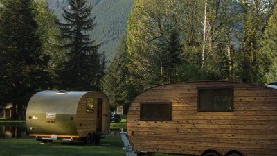 Kirkland-based Roam Beyond's camping trailers
