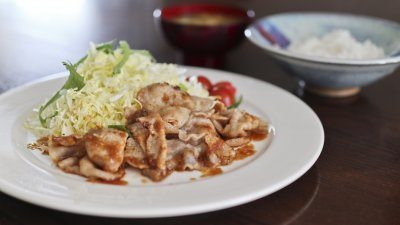 Try making Shiro's healthy and delicious ginger pork recipe during quarantine.