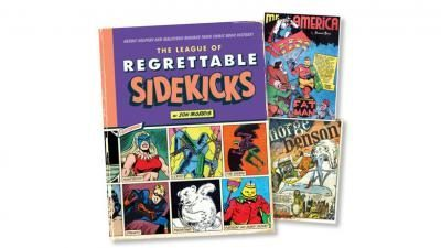 Seattle comic book on sidekicks
