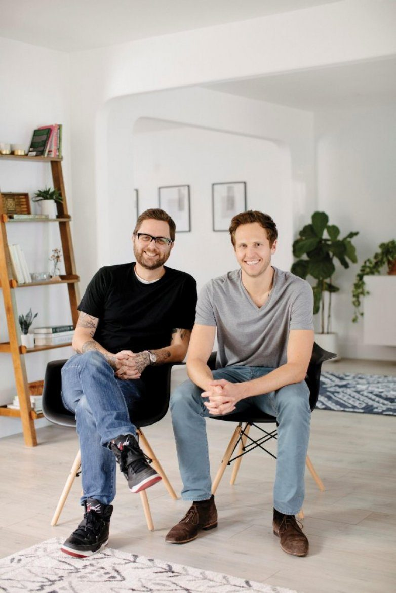 Fernish co-founders Lucas Dickey, left, and Michael Barlow